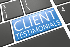 Business Law and Estate Planning Client Testimonials
